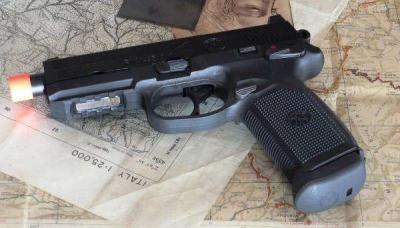 FN HERSTAL FNX-45 TACTICAL BLOW BACK A GREEN GAS