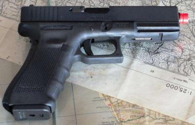 GLOCK G17 GEN.4 A GREEN GAS BLOW BACK