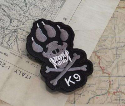 PATCH RICAMATA K9 IMPRONTA