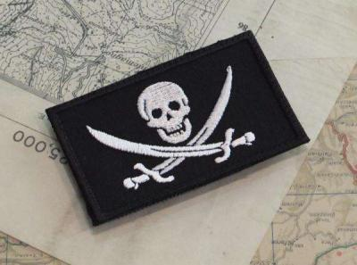 PATCH RICAMATA JOLLY ROGER